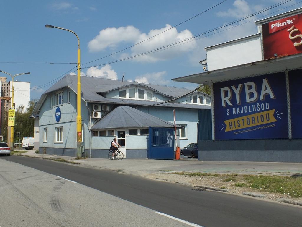 Fotografia pracoviska spoločnosti Ryba Košice spol. s r.o.