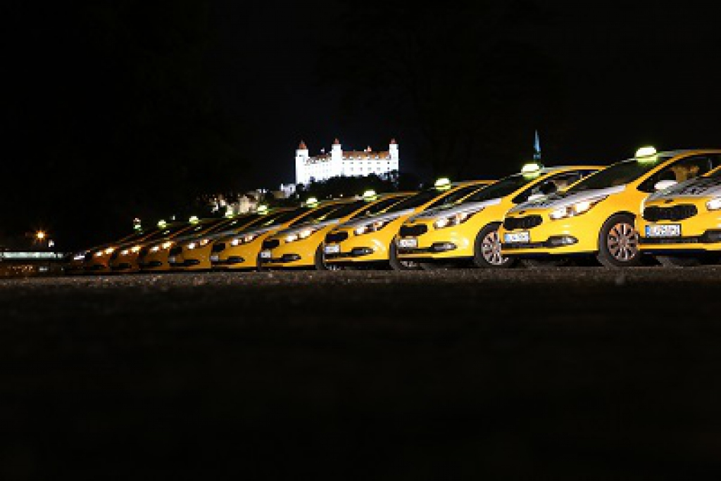 Fotografia pracoviska spoločnosti VB taxi